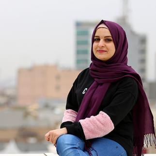 Istabraq Sabah Al-Zubaidi, one of IWPR's female champions. (Photo: IWPR)