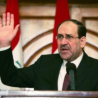 Iraqi prime minister Nuri al-Maliki. (Photo: Muhannad Fala'ah/Getty Images)