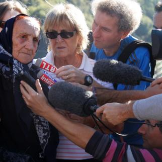 Yvonne Botteau Jacques makes headlines on her return to France. (Photo: Sabuhi Mammadli)