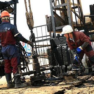 Working conditions in Janaozen's oil industry have improved since protests in 2011 ended in bloodshed. (Photo: Asylkhan Abdraim)
