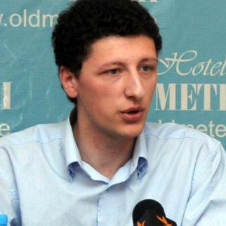 Merab Janiashvili, head of Georgia's Association of Young Financiers and Businessmen, is highly critical of the role played by monopolies. (Photo: M. Janiashvili)