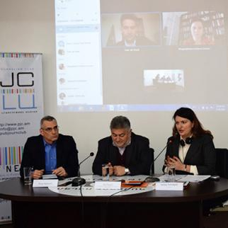 March 29, 2017 event held by IWPR, the Public Journalism Club (PJC) and the Media Centre. (Photo: IWPR)