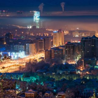 Almaty, Kazakstan's commercial centre: the country has Central Asia's highest rate of internet penetration. (Photo: Andrei Shevelev/Flickr)