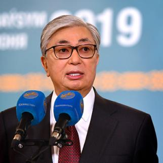 President of Kazakstan Kassym-Zhomart Tokayev. (Photo: President's Press Service)