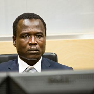 Dominic Ongwen in court on January 26. (Photo: ICC-CPI/Flickr)