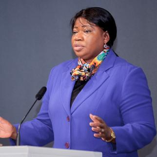 "ICC Prosecutor Fatou Bensouda says her office has ""learnt the lessons"" on prosecuting gender-based crimes. (Photo: Heinrich-Böll-Stiftung/Flickr)"