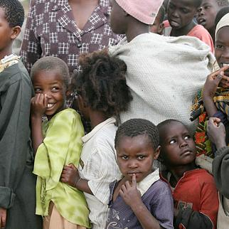 Kenyans displaced by the 2007-08 unrest at Shalom City, a camp on the outskirts of Naivasha. (Photo: Mothers Fighting For Others/Flickr)