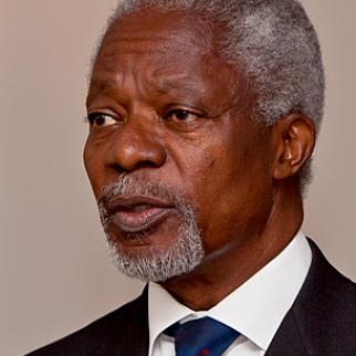 Former UN Secretary General Kofi Annan is leading a joint UN-Arab League peace effort for Syria. (Photo: Geirix/WikiCommons)