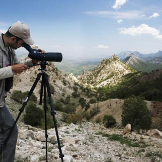 Korsh Ararat, an ornithologist with the Italian-funded group Nature Iraq, which like many Iraqi NGOs is suffering the effects of dwindling funding. (Photo: Nature Iraq)