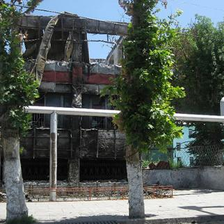Southern Kyrgyzstan will require large sums of money to restore buildings and infrastructure wrecked by ethnic clashes in June. (Photo: Pavel Gromsky)
