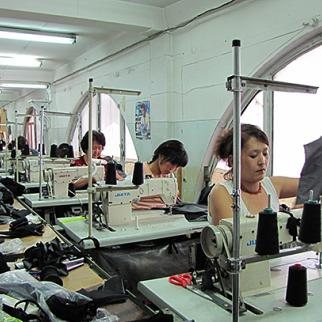 Kyrgyzstan's textile industry could lose out if the country joins the Moscow-led Customs Union. (Photo: Maksat Osmonaliev)