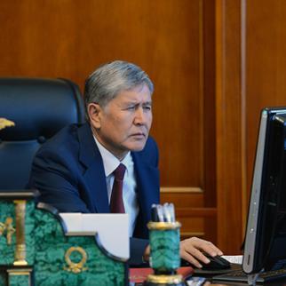 President of Kyrgyzstan, Almazbek Atambayev. (Photo: president.kg)