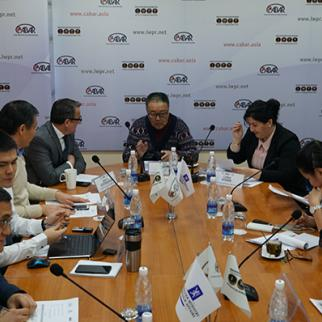 CABAR organised meeting on sinology development in Kyrgyzstan. (Photo: CABAR.asia)