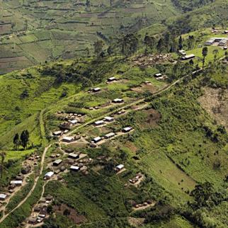 An aerial view of the Masisi region, scene of a recent case of mob justice. (Photo: UN Photo/Marie Frechon)