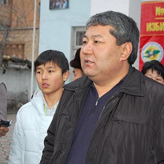Osh mayor Melis Myrzakmatov. (Photo: Ernist Nurmatov)