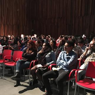 Audience at the Latin American Digital Media and Journalism Forum in Mexico City. (Photo: IWPR)