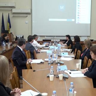 Online conference at the Ministry of Health. (Photo: Independent Journalism Center of Moldova)