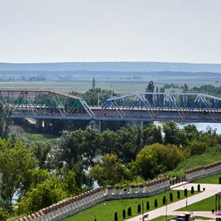 The Bridge over the Nistru river. (Photo: Aurel Obreja)