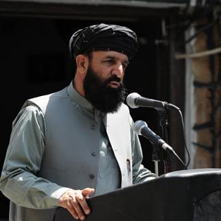 Ghazni provincial governor Musa Khan Akbarzada. (Photo: US Embassy Kabul Afghanistan/Flickr)
