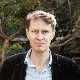 Luke Harding, author and former Guardian Moscow correspondent. (Photo: Courtesy of L. Harding)