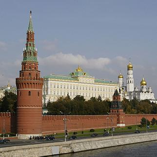 The Kremlin in Moscow. Picture from 2003. (Photo: Ian Walton/Getty Images)