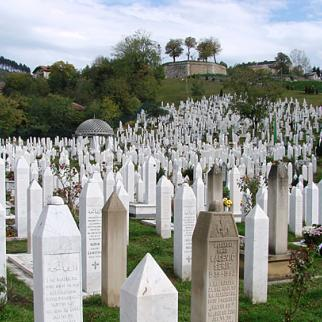 Sarajevo cemetery where many of the victims of the Bosnian Serb siege of the city are buried. (Photo: Michael Goodine/Flickr)