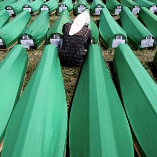 Srebrenica victims. (Photo: Still from Uspomene 677, a documentary by Mirko Pincelli)
