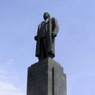 Stalin stared down on the people of Gori until his statue was removed in 2010. There are now plans to put it back by December 2013. (Photo: Gilad Rom/Flickr)