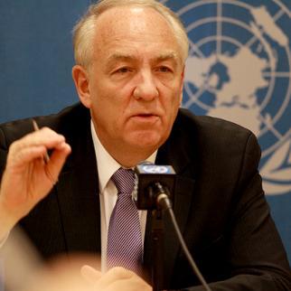 Stephen J. Rapp, Ambassador-at-Large for War Crimes Issues. (Photo: U.S. Mission/Eric Bridiers)