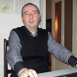 Suren Musaelyan of the online news service Armenianow is one of many younger Armenians who do not regret the end of Soviet rule. (Photo: Gayane Mkrtchyan)