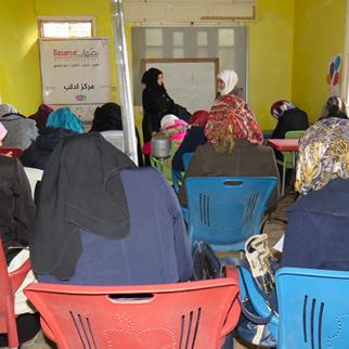A workshop organised by Basamat. (Photo: Mohammed Ibrahim)