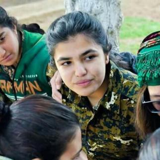 PKK uses underage girls in hostilities. (Photo: Spodaren Roje/YPJ organisation)