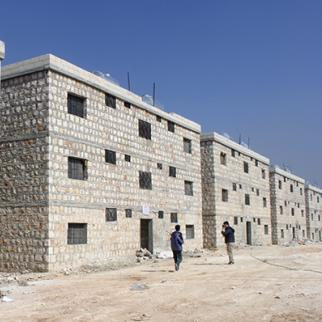 The Rahma residential project. (Photo: Ahmad al-Salim)