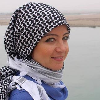 Zaina Erhaim. (Photo: Hayyan Alyousouf)