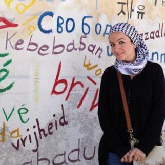 Zaina Erhaim in Aleppo, Syria. (Photo courtesy of Zaina Erhaim)