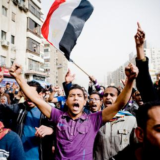 Egyptians want to see their victory tranlate into political and economic justice. (Photo: Hossam el-Hamalawy/Flickr)