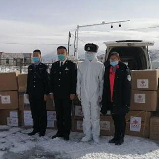 Tajikistan received humanitarian aid from China. (Photo: khovar.tj)