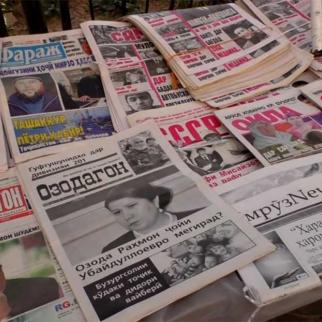 Tajik media landscape is losing its diversity due to financial difficulties, political pressure and brain drain.