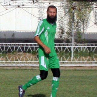 Parviz Tursunov, a former football player. (Photo courtesy of RFERL Tajik service)