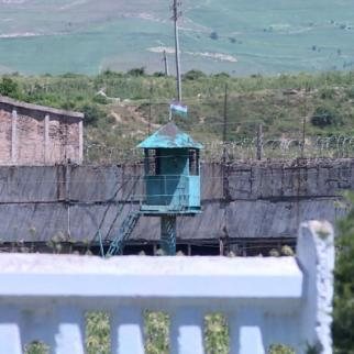 Prison № 3/2 in Vakhdat city of Tajikistan. (Photo: RFE/RL's Tajik service)