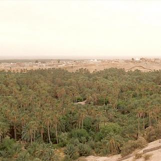 Nefta, an oasis town close to Tunisia's western border with Algeria. (Photo: Tico/Wikimedia Commons)