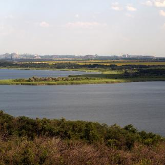 A view of the mines in the town of Toretsk in Donetsk region. If they were flooded, the river at the territory of the natural reservation Kleban-Byk would be contaminated.