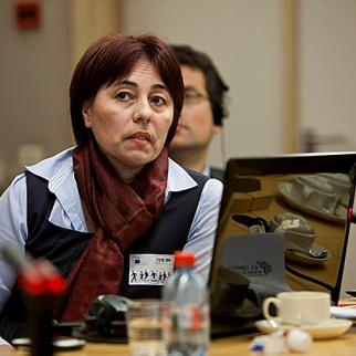 Nadezhda Ataeva, head of the Association for Human Rights in Central Asia. (Photo courtesy of N. Ataeva)