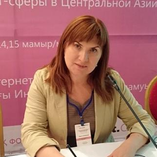 Inga Sikorskaya. (Photo: IWPR)