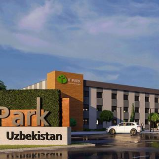 The new IT Park in Uzbekistan. (Photo: IT Park)