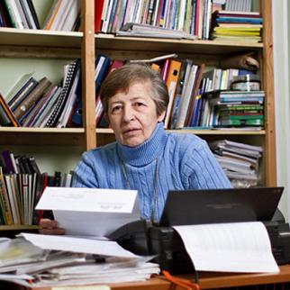 Russian human rights defender Yelena Ryabina. (Photo courtesy of Ye. Ryabina)