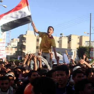 Yemeni protesters appear determined despite continuing security crackdown. (Photo: Afrah Nasser)