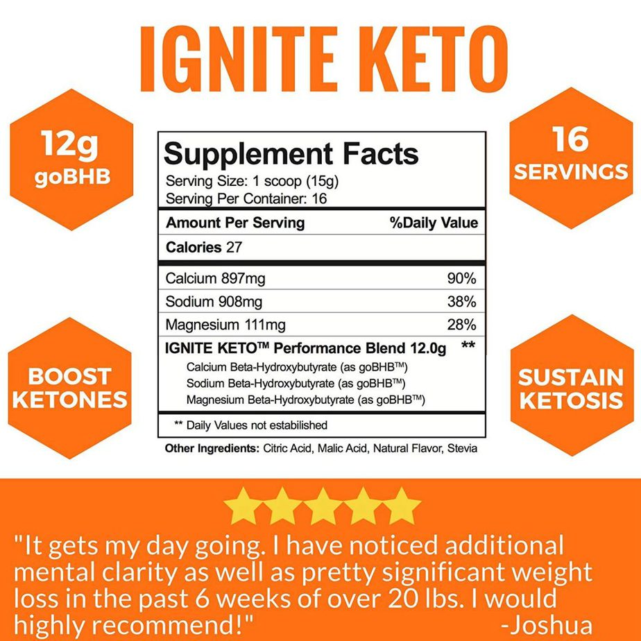 Ignite_keto_ketones_label
