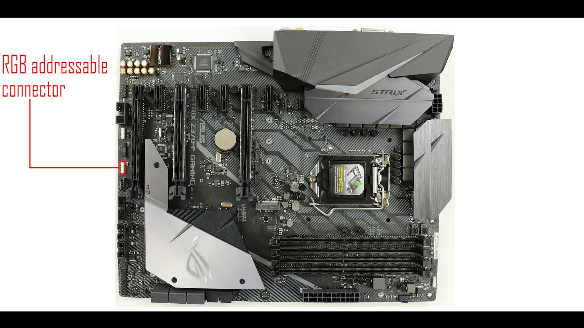 ROG STRIX Z370-F Gaming, ADDRESSABLE RGB