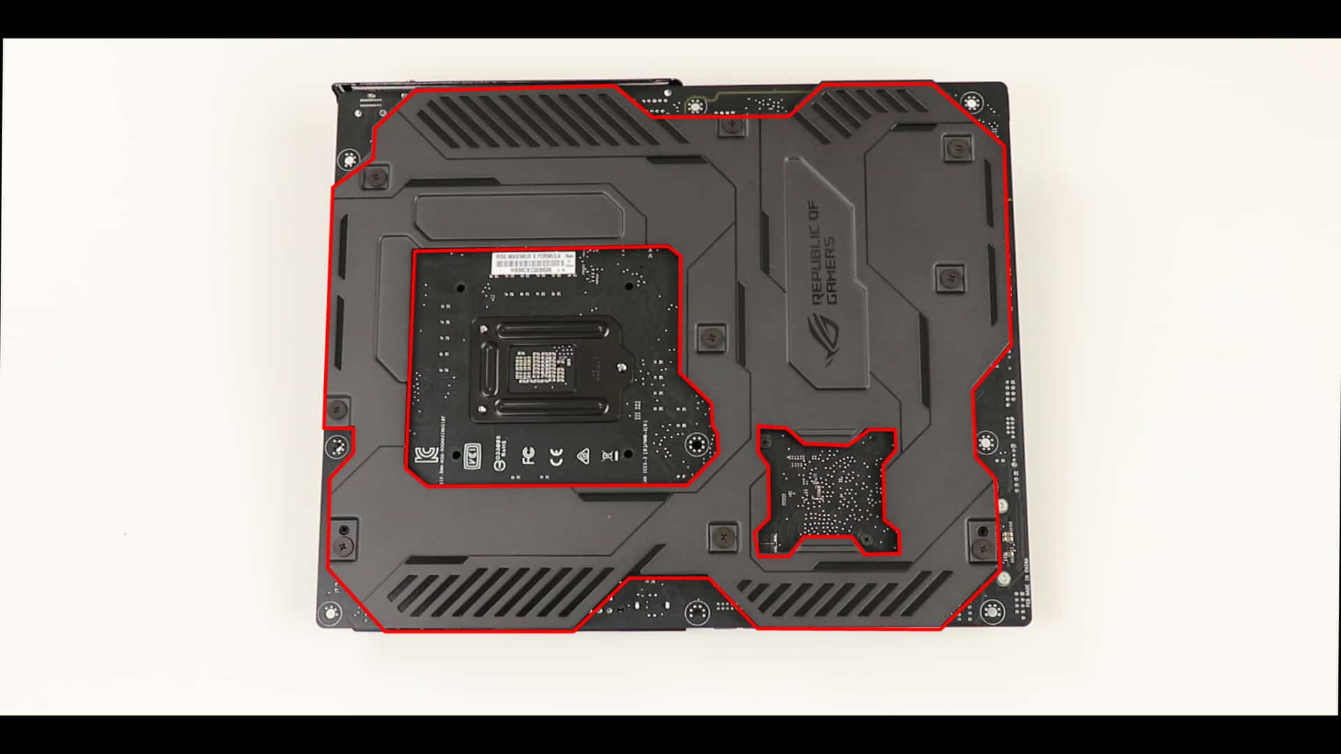 MAXIMUS X Hero Back Plate